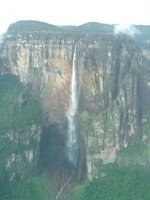 Angel Falls as Seen from the Aeroplane