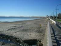 Beach at Puerto Madryn