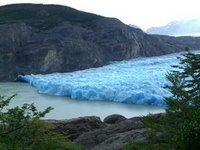 Start of the Grey Glacier