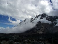 Salkantay, Shrouded in Cloud